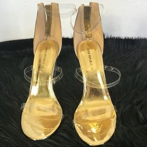 Trendy Transparent Sandals